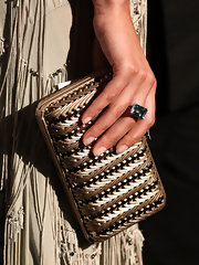 Bianca Balti nailed it when it came to her neutral manicure at the de Grisogono dinner at Cannes.