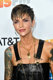 Ruby Rose rocked an edgy pixie while attending iHeartRadio's KIIS FM Wango Tango.