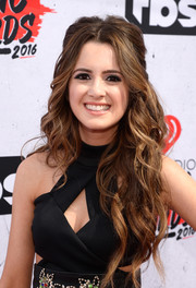 Laura Marano showed off lush half-up waves at the iHeartRadio Music Awards.