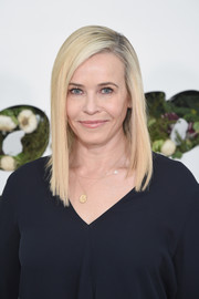 Chelsea Handler showed off a sleek, modern asymmetrical cut at the In goop Health Summit.