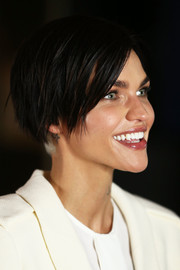 Ruby Rose looked cool with her short side-parted cut at the 'xXx: Return of Xander Cage' fan event in Sydney.