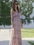 Who has the prettiest maxi-dress?