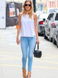 Who has the best skinny jean style?