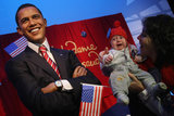 Barack Obama Wax Figure Enters Berlin Madame Tussauds