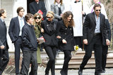 Joely Richardson in Family And Friends Attend Services For Actress Natasha Richardson