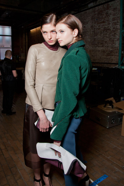 3.1 Phillip Lim Fall 2012 - Backstage