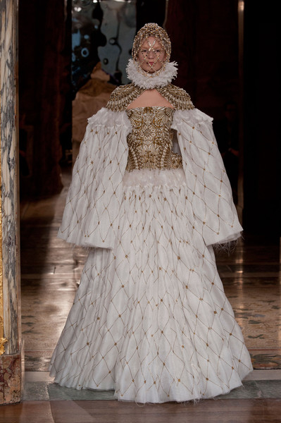 Alexander McQueen's Voluminous Sleeves