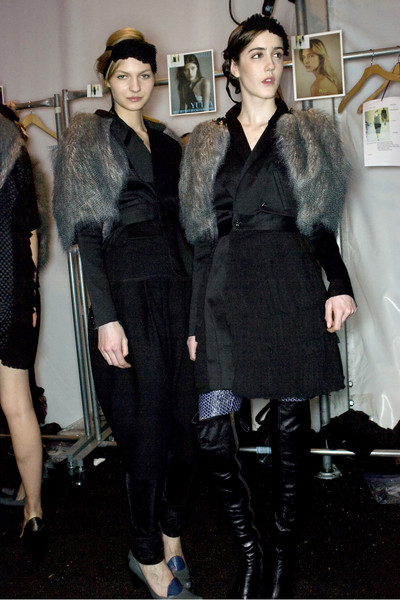 Alexandre Herchcovitch Fall 2009 - Backstage