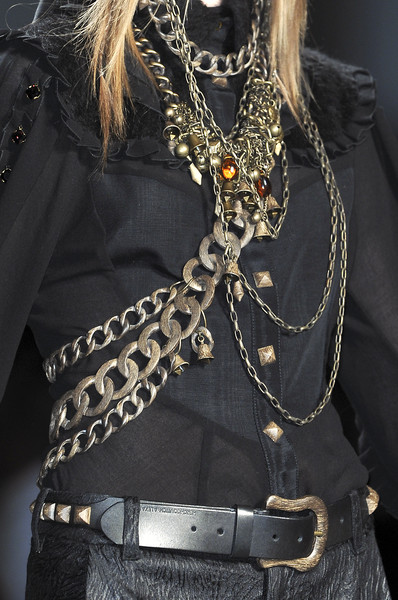 Alexandre Herchcovitch at New York Fall 2010 (Details)