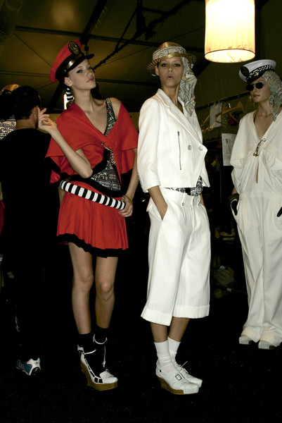 Alexandre Herchcovitch at New York Spring 2007 (Backstage)