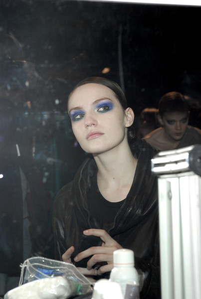 Angelo Marani at Milan Fall 2008 (Backstage)