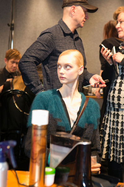 Angelo Marani Fall 2013 - Backstage