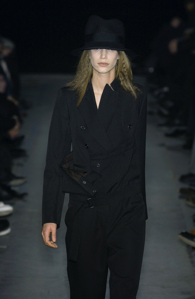 Ann Demeulemeester at Paris Fall 2003