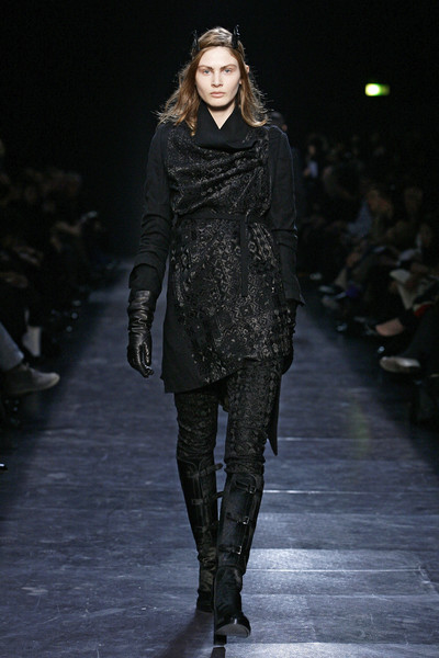Ann Demeulemeester at Paris Fall 2009