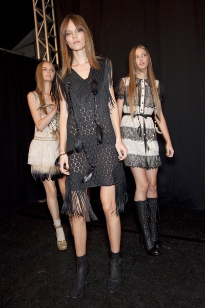 Anna Sui Spring 2011 - Backstage