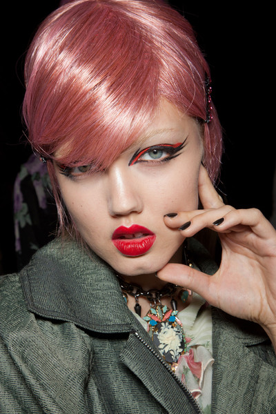 Best Spring 2013 Runway Nails - Anna Sui