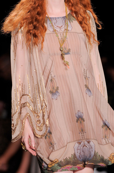 Anna Sui at New York Spring 2014 (Details)