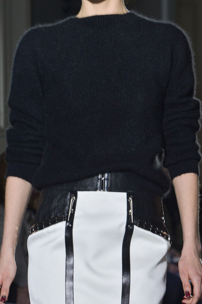 Anthony Vaccarello Fall 2013 - Details