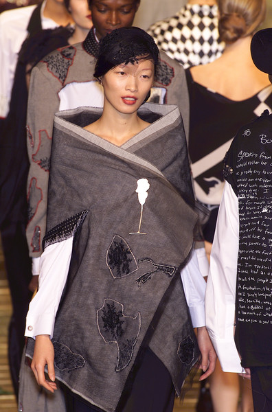 Antonio Marras at Milan Spring 2001