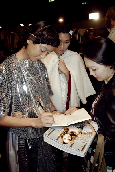 Antonio Marras Spring 2008 - Backstage