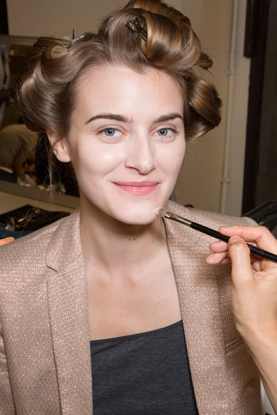 Armani Privé at Couture Fall 2013 (Backstage)