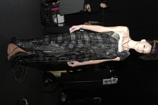 Ashley Isham Fall 2007 - Backstage