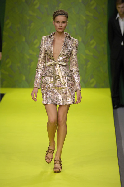 Ashley Isham at London Spring 2007