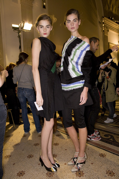 Atsuro Tayama at Paris Spring 2009 (Backstage)