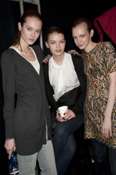 BCBG Max Azria Fall 2009 - Backstage