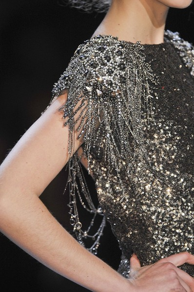 Badgley Mischka at New York Fall 2012 (Details)