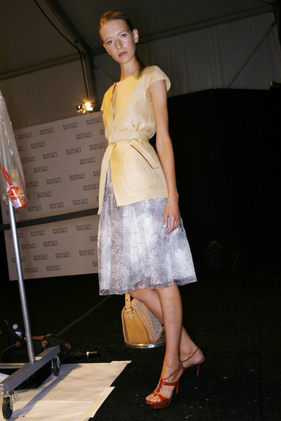 Badgley Mischka Spring 2009 - Backstage