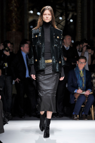 Balmain at Paris Fall 2012