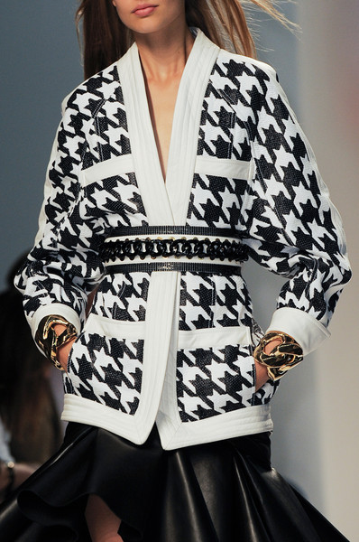 Balmain at Paris Spring 2014 (Details)