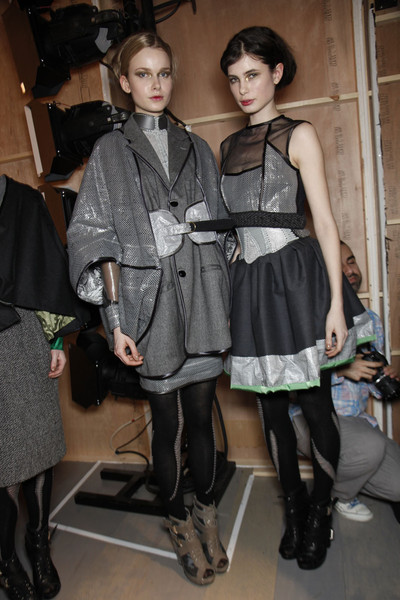 Bora Aksu Fall 2011 - Backstage