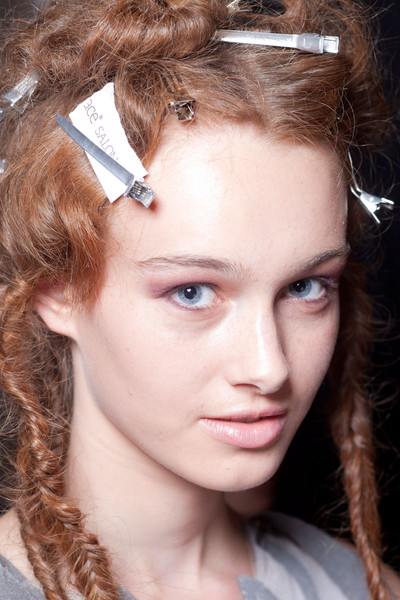 Bora Aksu at London Spring 2013 (Backstage)