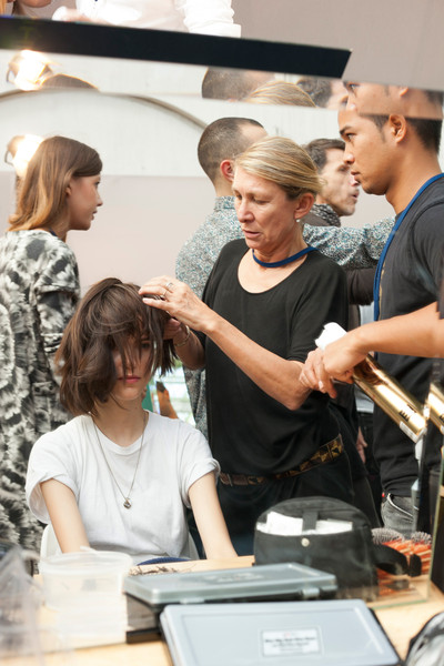 Cacharel Spring 2013 - Backstage