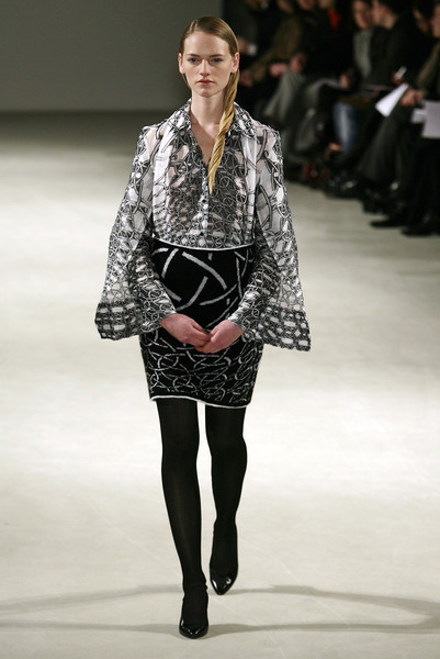 Cathy Pill at Couture Spring 2007