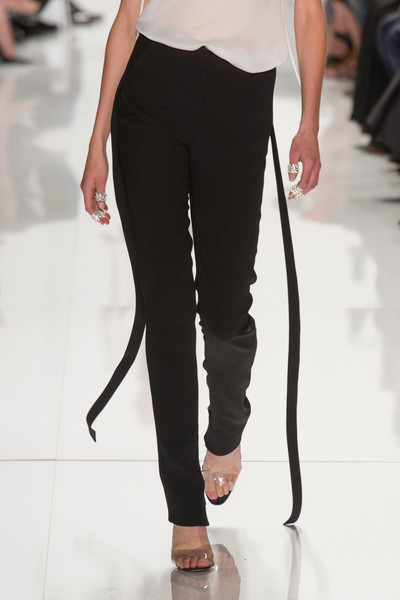 Chado Ralph Rucci at New York Spring 2014 (Details)