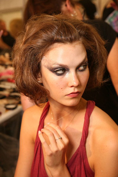 Christian Dior Fall 2011 - Backstage