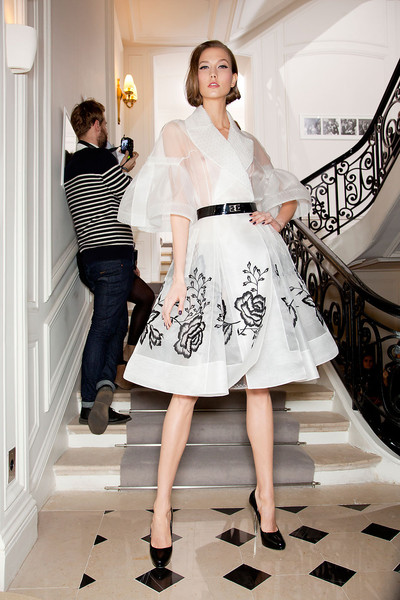 Christian Dior Spring 2012 - Backstage