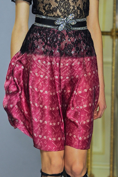 Collette Dinnigan Fall 2012 - Details