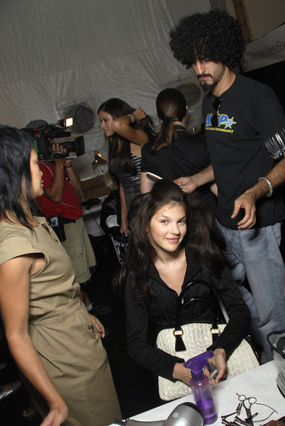 Custo Barcelona at New York Spring 2008 (Backstage)