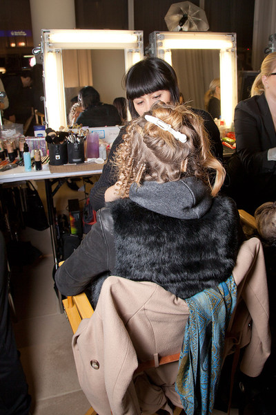 Cynthia Rowley Fall 2012 - Backstage
