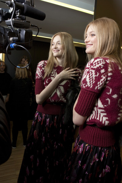 D&G Fall 2010 - Backstage