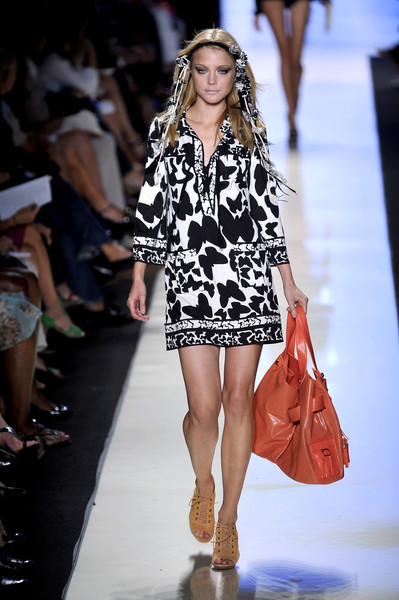 Diane von Furstenberg at New York Spring 2009
