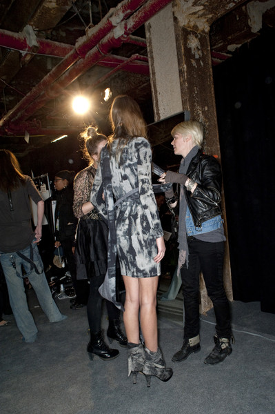 Diesel Black Gold Fall 2010 - Backstage