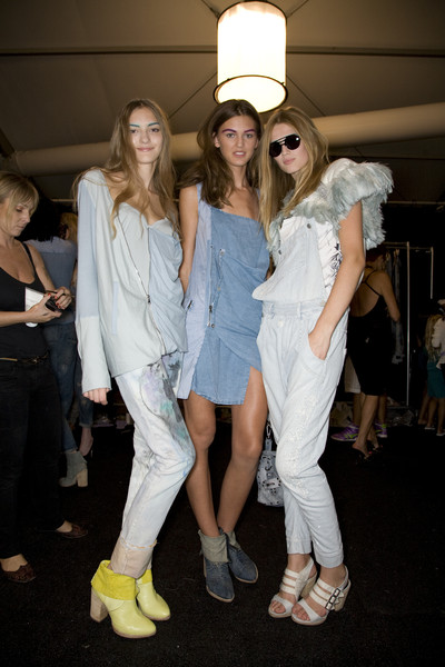 Diesel Black Gold Spring 2009 - Backstage