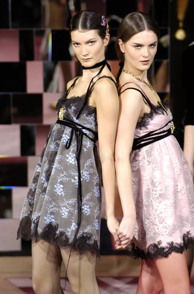 Dolce & Gabbana at Milan Fall 2004