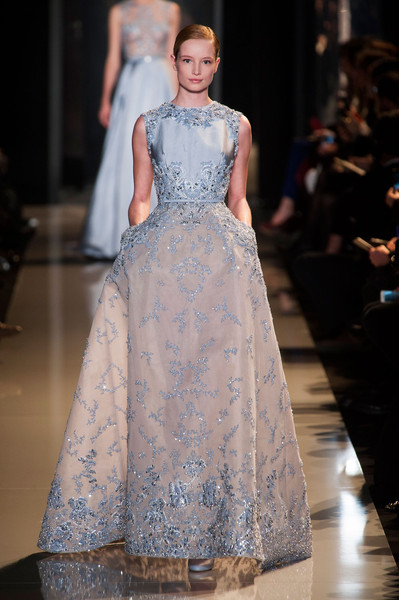 Elie Saab at Couture Spring 2013