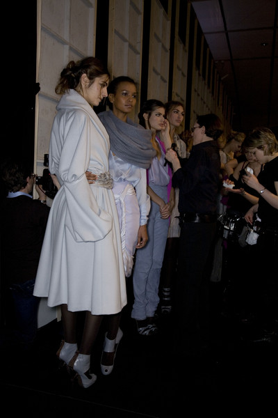 Emanuel Ungaro at Paris Fall 2008 (Backstage)